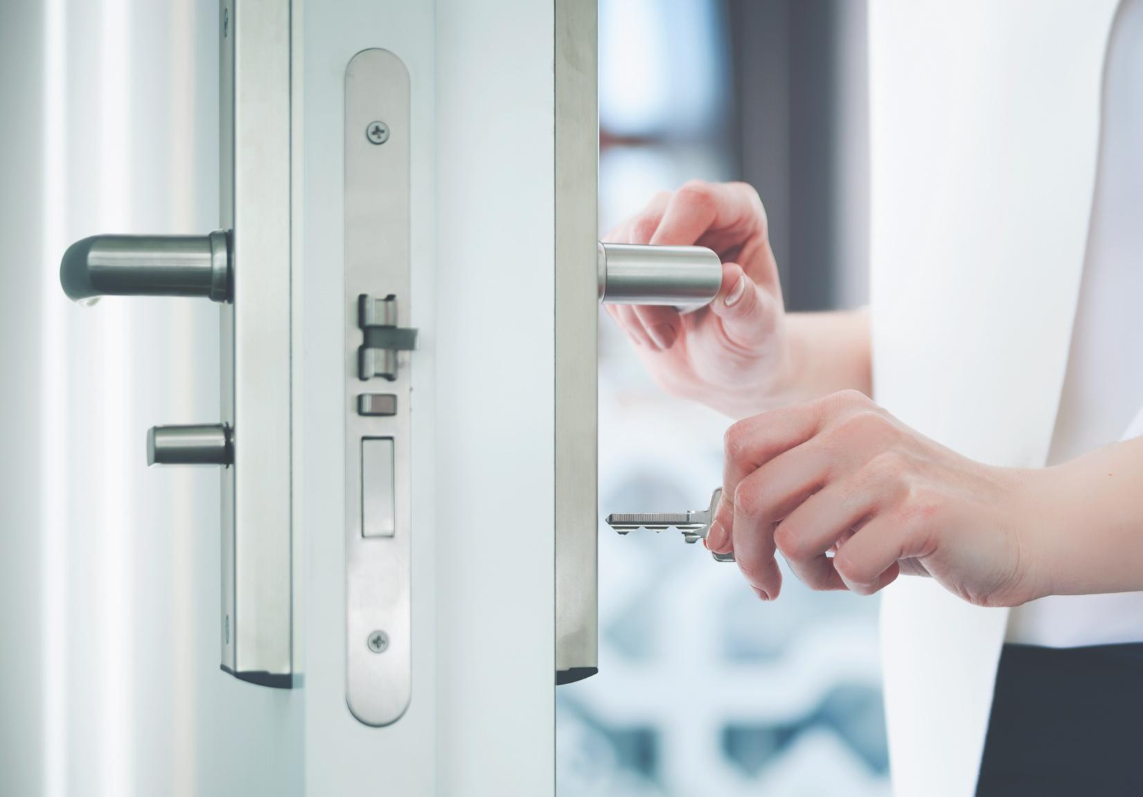 Verbesserter Einbruchsschutz durch sichere Türen